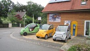 utilisation des voitures électriques